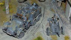 "Krupp Protze ""Kfz.69 Zugwagen für 3,7-cm-PaK 36"" Science Fiction, Scale Models, Sci Fi, Miniatures, Military, Dioramas, Model Building, Mockup, Army"