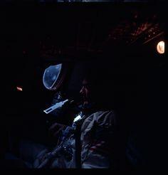 S66-62984_G12-S  Major Aldrin inside Spacecraft