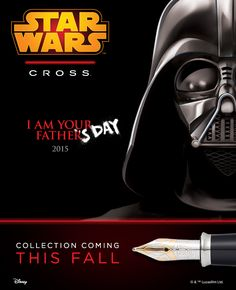 Pinterest Pin - Celebrating #FathersDay in anticipation of our new Star Wars Collection, arriving in your galaxy this Fall! #StarWars