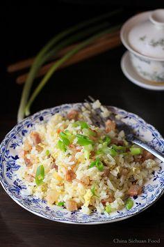 Sausage fried rice