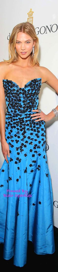 CANNES 2015 Red Carpet Karlie Kloss in Oscar de la Renta | ♕♚εїз BLAIR SPARKLES