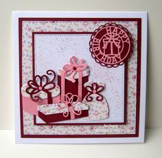 CottageCutz dies - presents, bags & bows, gift tag topper and bows, variety