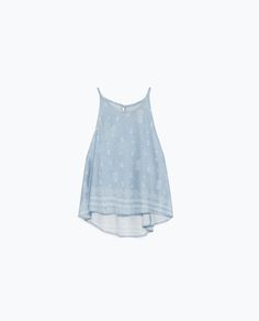 Image 8 of PRINTED HALTER NECK TOP from Zara