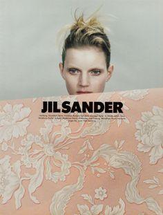 1996 Jil Sander S/S campaign by Craig McDean, featuring Guinevere van Seenus