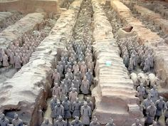 Land of my ancestors: to see the Terracotta Warriors.