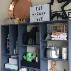 Eat, Pray, Love! #studiosproeten #keuken #lightbox #kitchen #alittlelovelylightbox