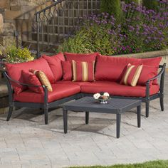 Found it at Joss & Main - 4-Piece Astoria Patio Seating Group