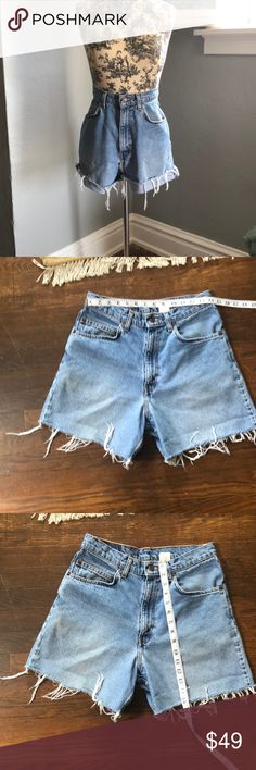 24d18e4a Re worked shorts High waist shorts very versatile. Can be cuffed or worn  long.