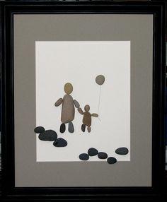 Arte Caminar juntos padre y niño imagen por PumpkinandParsnip