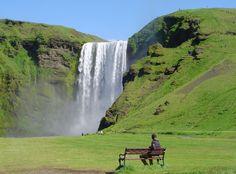 Watervallen IJsland - SKogafoss http://www.naturescanner.nl/watervallen/ijsland#