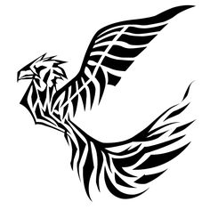 com img src http www tattoostime com images 349 black ink tribal Tribal Phoenix Tattoo, Phoenix Tattoo Design, Phoenix Tattoos, Tribal Tattoo Designs, Tribal Tattoos, Goose Tattoo, Picture Tattoos, Hd Wallpaper, Wallpapers