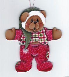 Christmas Bear Ornament | ebay stonehouse28