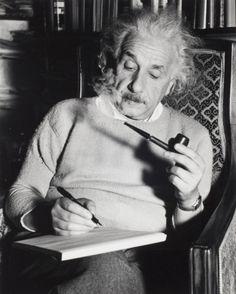 """infinite-paradox: """"Lucien Aigner, Albert Einstein at work, Princeton, 1940 """""""