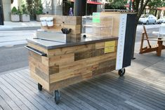 Lovejoy Bakers Coffee Cart, Design by fix studio 2011