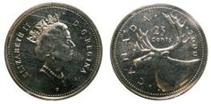 """Welcome to my post on modern rare Canadian coins. One of the most fascinating areas of coin collecting is finding what are known as """"error"""" coins. These coins are the result of a mistake made by … Rare Coins Worth Money, Valuable Coins, Queen Victoria Images, Thousand Dollar Bill, Canadian Coins, Dollar Money, Canadian Diamonds, Coin Worth, American Coins"""