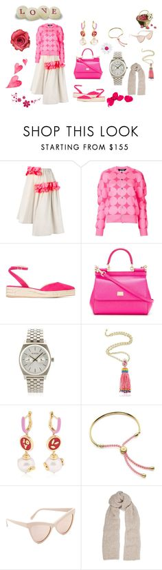 """Fashion weekend..."" by jamuna-kaalla ❤ liked on Polyvore featuring Paskal, Paul Andrew, Dolce&Gabbana, Nixon, Shourouk, Bea Bongiasca, Monica Vinader, STELLA McCARTNEY, Maje and vintage"