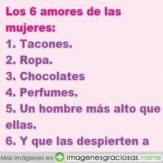Los 6 amores de las mujeres