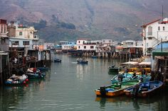 Tai-O is an old village, founded by pirates, which is completely non-modern, as opposed to the rest of Hong Kong. It is famous for its stilt houses and fresh seafood made by the local fishermen.