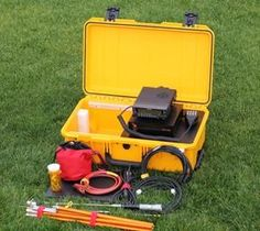 Portable go kit radio station this site has a lot of good ideas for outstanding design and antenna mast idea radio go kit or flip kit by ke6ygf malvernweather Images