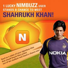 We at Nimbuzz have tied up with Nokia to give you an opportunity of a lifetime! In the 100 years of cinema, if there is one man who can claim to be the King ...
