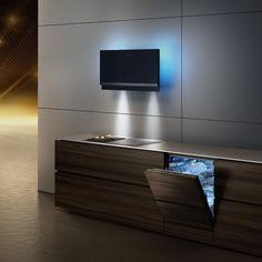 Siemens studioLine – Exklusivität in Perfektion Design Moderne, Cuisines Design, Küchen Design, Design Inspiration, Lighting, Architecture, Kitchen, Studio, Appliances