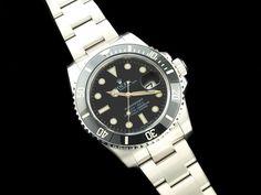 Men's with Ceramic Bezel. Classic confident look for Men's Rolex, Rolex Submariner, Rolex Watches, Confident, Ceramics, Lifestyle, Classic, Accessories, Ceramica
