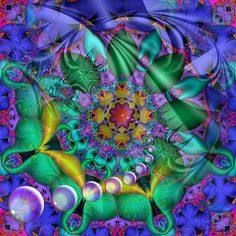 Love the colors in this fractal.