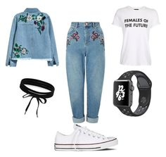 Roses by grace-e-mann on Polyvore featuring polyvore, fashion, style, Topshop, H&M, Miss Selfridge, Converse, NIKE, Boohoo and clothing