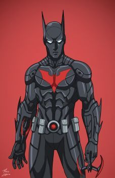 Batman 4.0 (Earth-27: 2027) commission by phil-cho