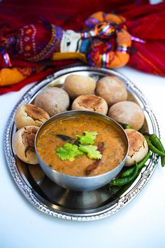 Dal Bati Churma Recipe. Must learn to make this for my brother