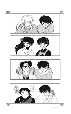 Ranma x Inuyasha Love it