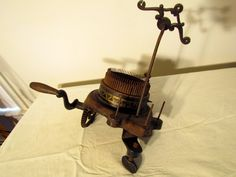 Victorian Sewing | Antique Victorian Yarn Sewing Machine,
