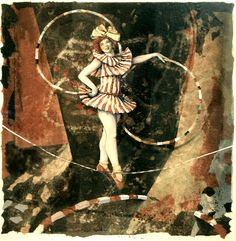 """Infinity"" (Circus Girl) by Russ Ball"