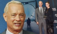 Tom Hanks suits up for Bridge Of Spies premiere in Berlin and shows off dyed hair | Daily Mail Online