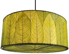 green cocoa leaf drum pendant light plug in direct wire 497s 497a 18 chandeliers drum pendant lighting decorating