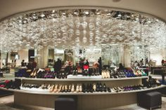 Saks Fifth Avenue is home to the Super Bowl of shoes. It has it's own zip code. It is that amazing. #BGWarmUp