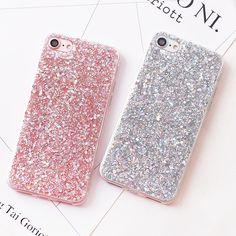 Luxury Bling Glitter Mobile Phone Case for iPhone 7