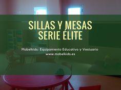 Sillas Infantiles y de adultos serie élite Low Cost para la Vuelta al Cole en Mobelkids. https://www.mobelkids.es/