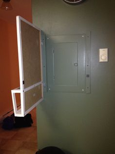 1000 images about hiding electrical box on pinterest How to hide electrical panel in living room