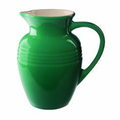 Amazon.com: Le Creuset Stoneware Pitcher, 2-1/4-Quart, Palm: Kitchen & Dining