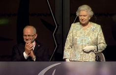 The Queen at the Opening Ceremonies 29 Aug 2012