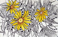 color in zentangles