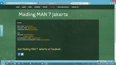 Mading MAN 7 Jakarta - Site Map