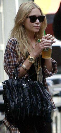 I just wanna dress like Mary Kate Olsen. Everyday.