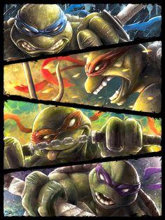 Teenage Mutant Ninja Turtles  by Barrett Biggers & JP Perez