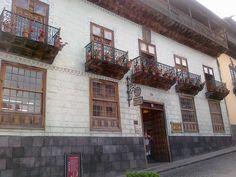 Feudales Balkonhaus (  Doce Casas) in La Orotava.