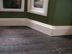 Perfect mitred baseboards - a tutorial