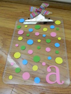 clipboard for teachers or for kids to use during centers: literacy centers, math centers, guided reading time. . . make a classroom set!