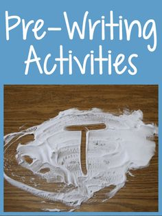 Pre-Writing Activities - PreKinders