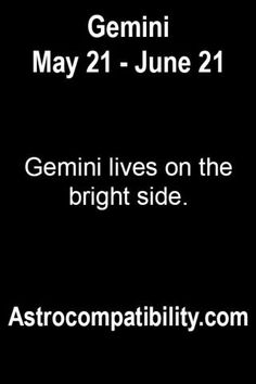 Gemini lives on the....   AstroCompatibility.com